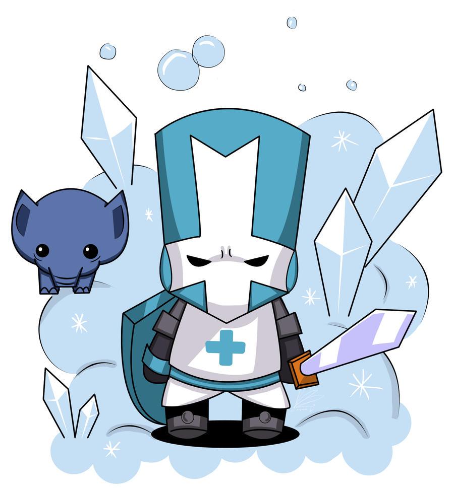Blue Knight - Castle Crashers by kinokashi on DeviantArt