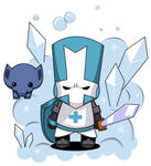 Blue Knight - Castle Crashers