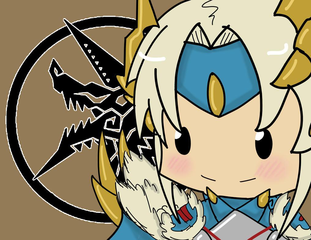 Regarde une feuille de personnage Chibi_jinouga_huntress_by_kinokashi-d65i89p