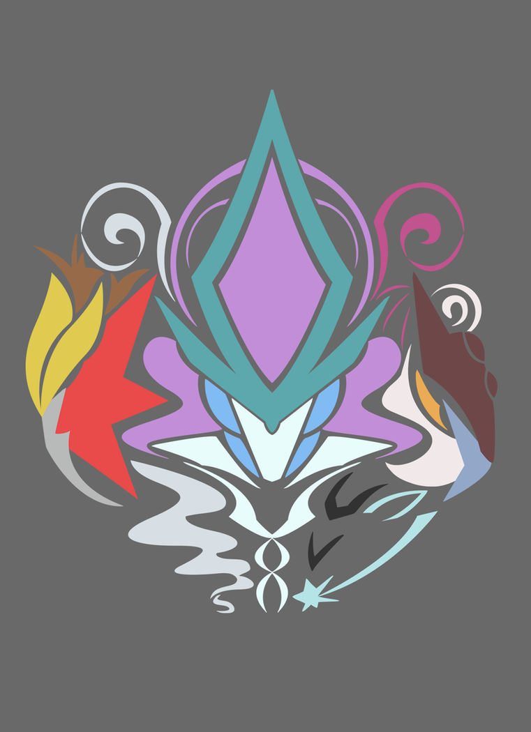 Legendary Beast Trio design by kinokashi