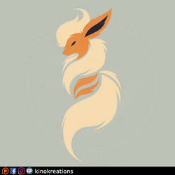 Flareon Design from my Rare Candy design Set
