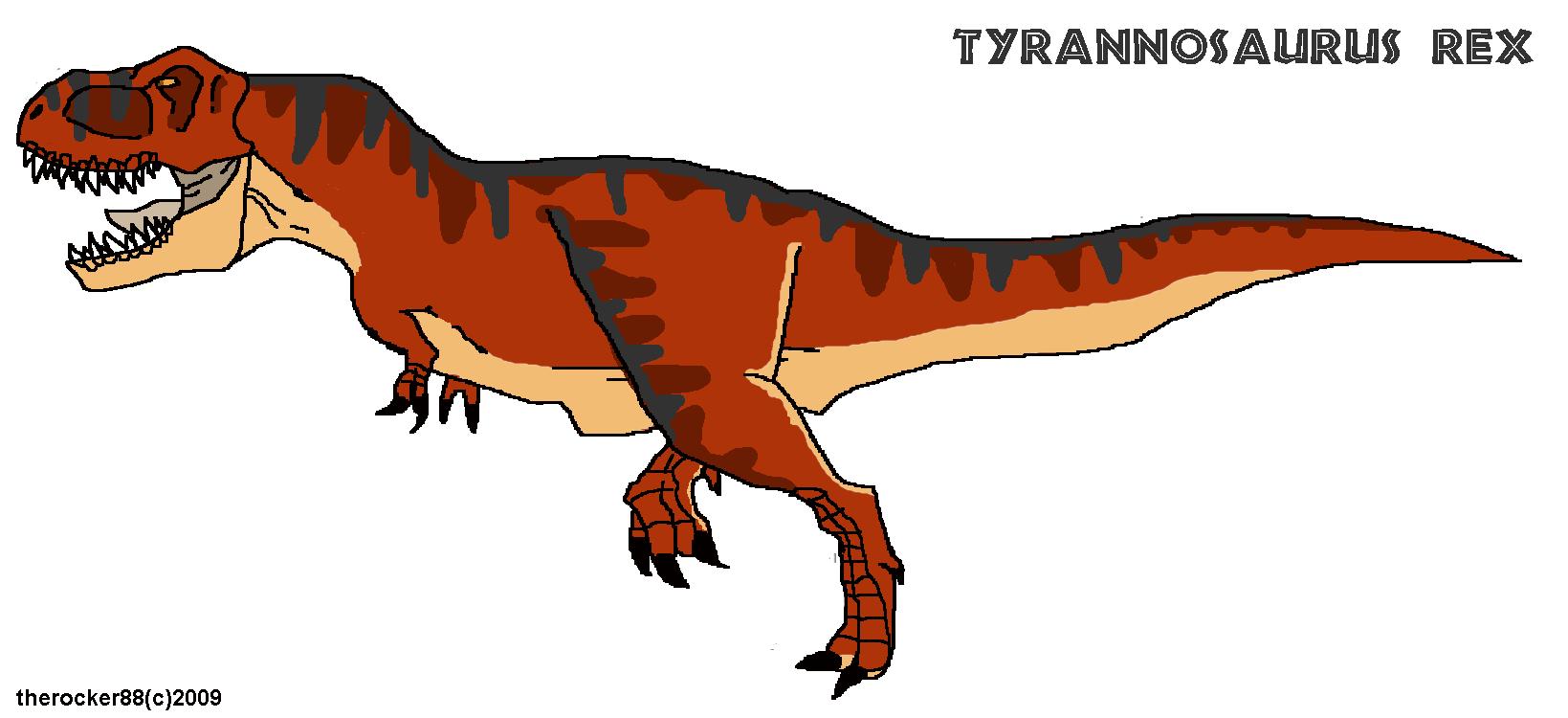 Tyrannosaurus Rex by Ergo-Palsy