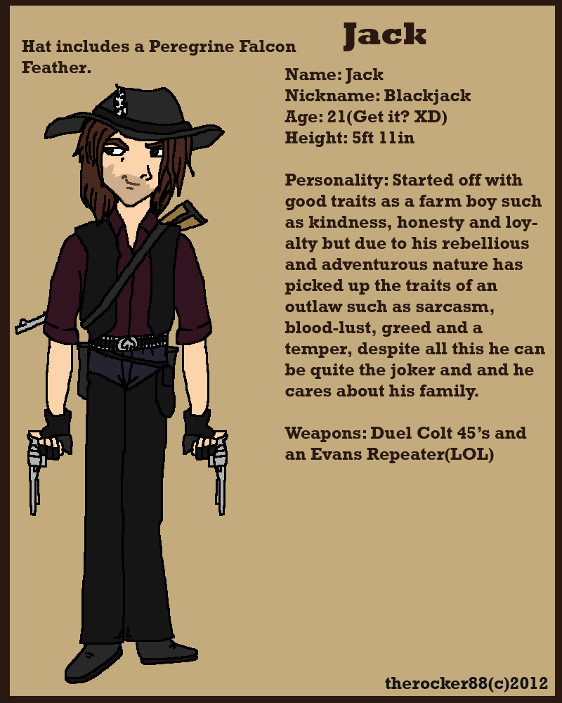 Blackjack the Outlaw by true-redemption88