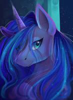Luna by Aelwyng