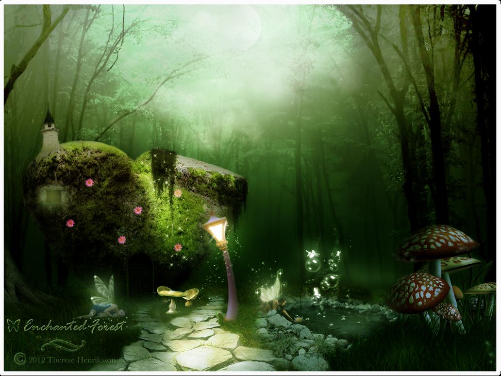 Enchanted Forest By Tdesignstudio On Deviantart
