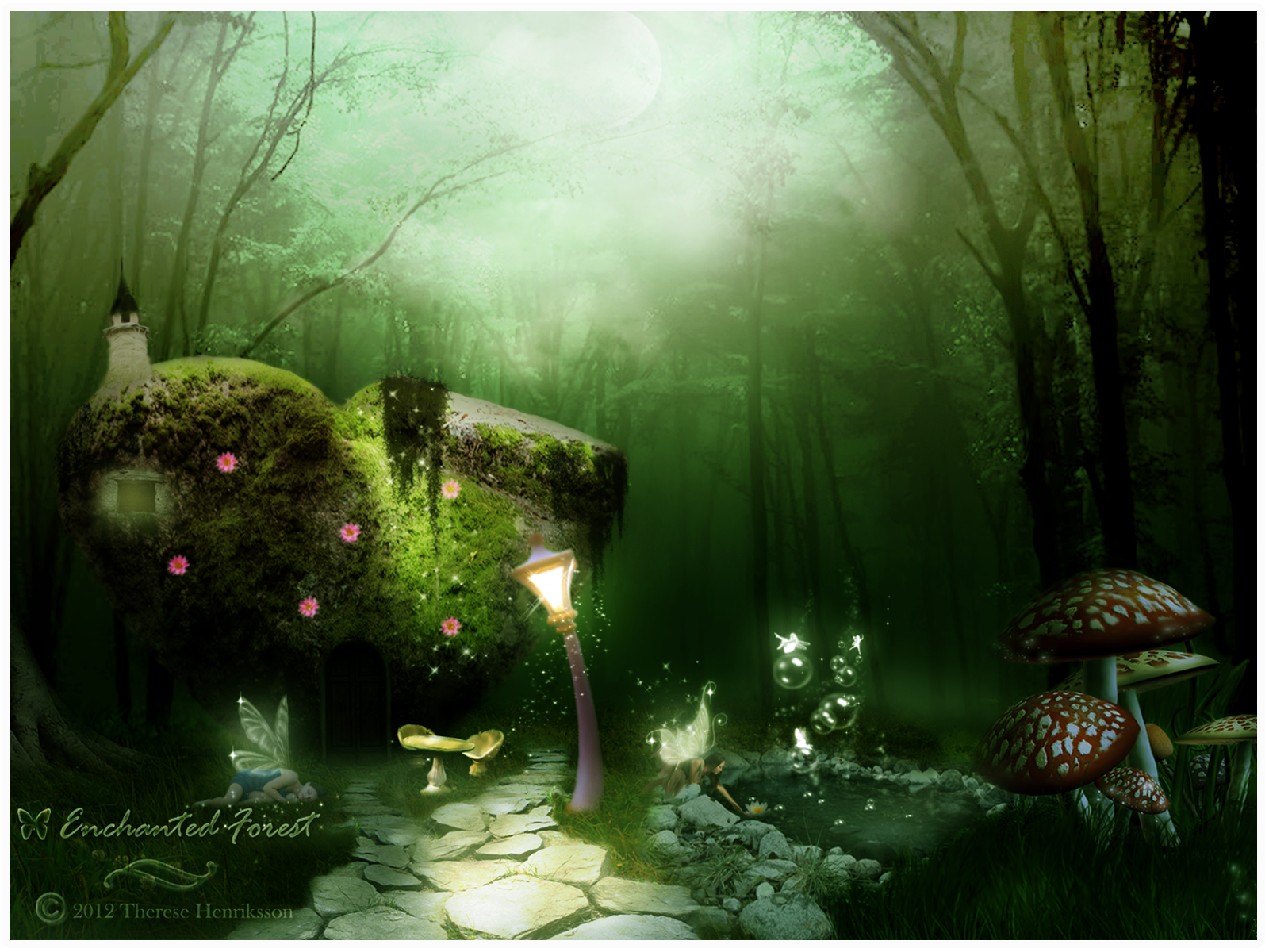 Enchanted Forest By Tdesignstudio On Deviantart
