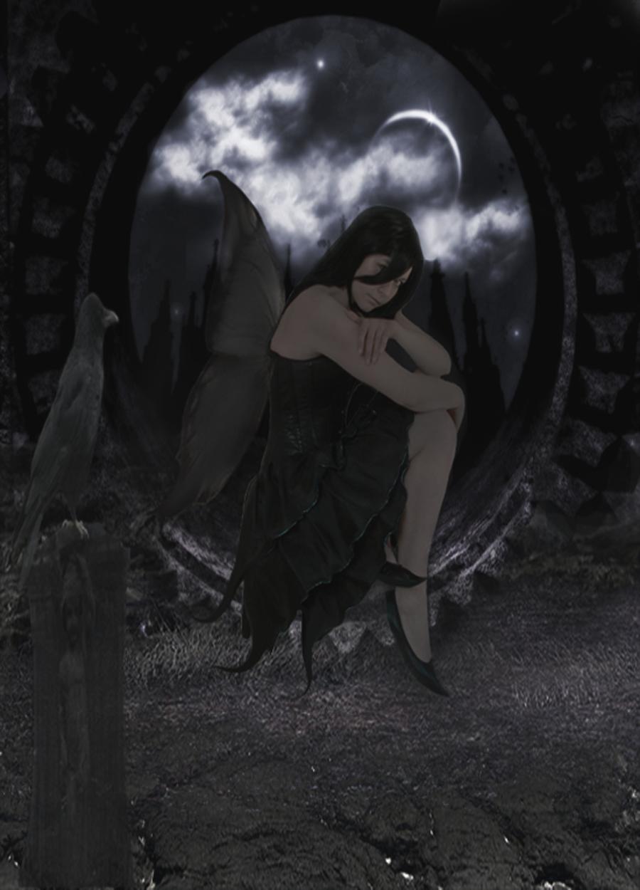 Beautiful Drawings Of Dark Angels - Hot Girls Wallpaper