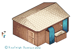 Isometric Shack by Airigh