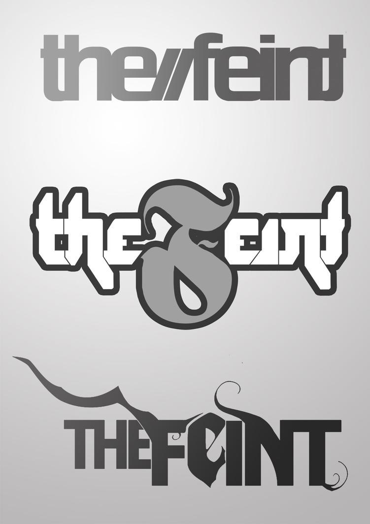 name logos design the feint logo designs