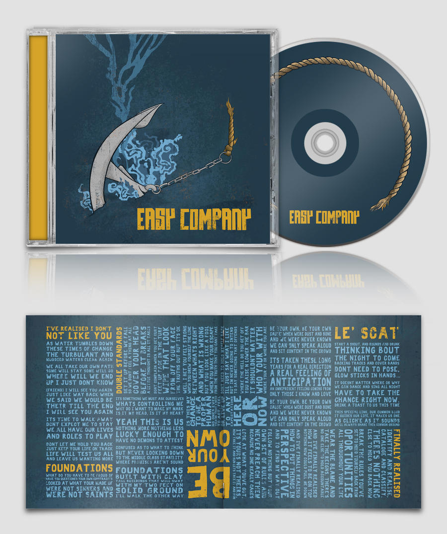 Easy Company CD Packaging by my-name-is-annie