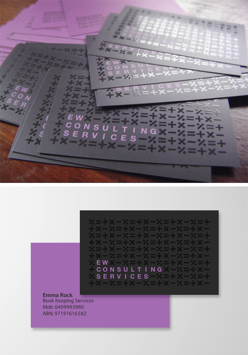 Accountant Business Cards by my-name-is-annie
