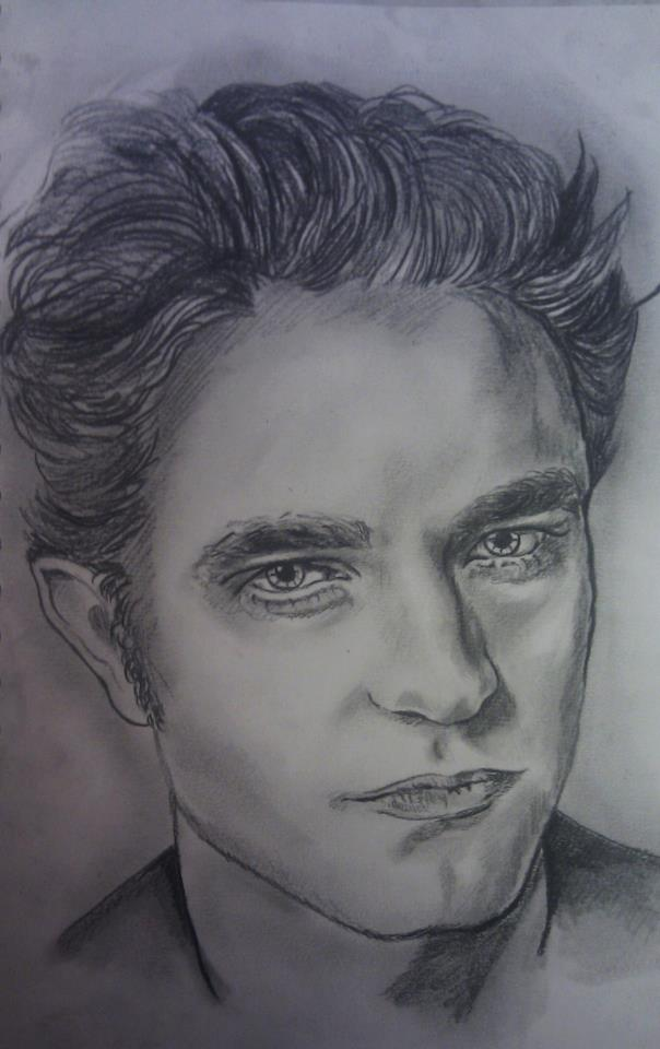 Edward Cullen Drawing By Nadinesabbagh On Deviantart