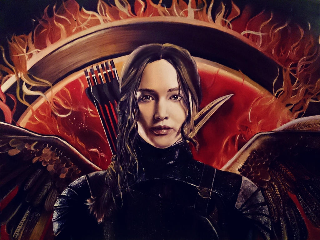 Katniss Everdeen - Mockingjay by NadineSabbagh
