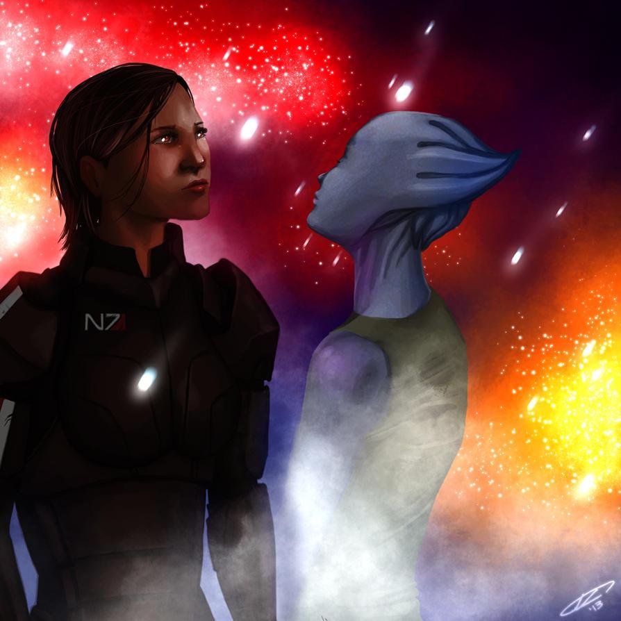 Mass Effect: Stars by AlanaKai