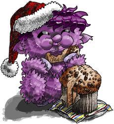 Fluffy ed il panettone