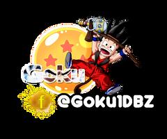 Goku Logo 3 by MadaraUchihaCrg