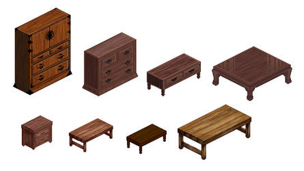furniture by M-seiran
