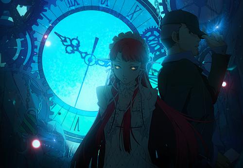 Clockwork Invertigo - Chidori and Junpei Tag by TheIzaya