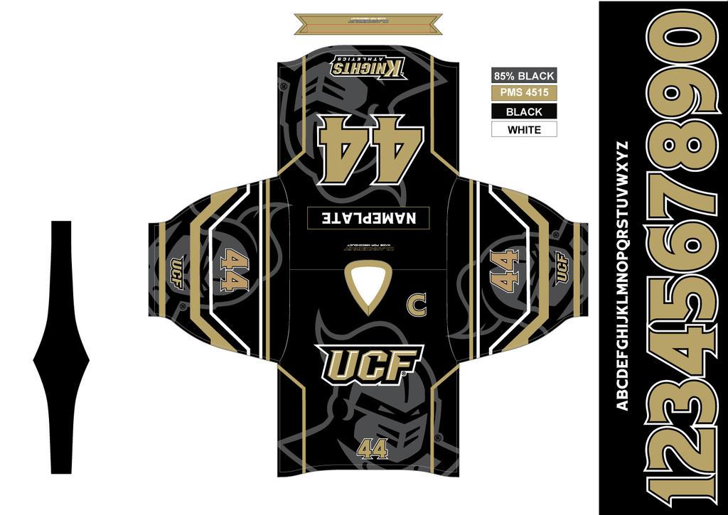 watch eb8f9 43969 University of Central Florida Hockey Jersey - Away by ...