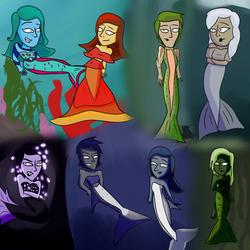 Mermaids for Mermay by izthewizard