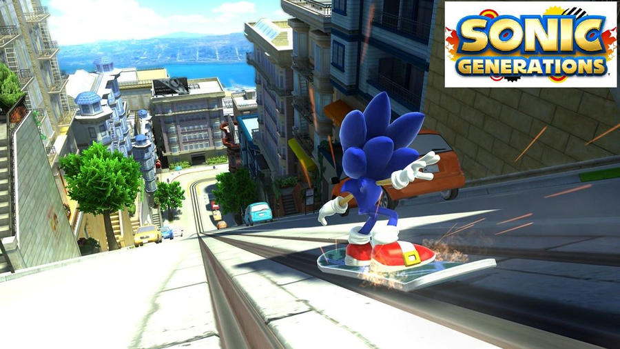 sonic g city escape wallpaper by silversonicvxd on deviantart