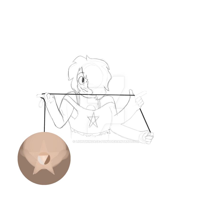 Smoky sketch...ish thing by lightningace-pony
