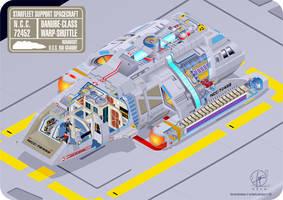 Runabout Warp-Shuttle by Paul-Muad-Dib