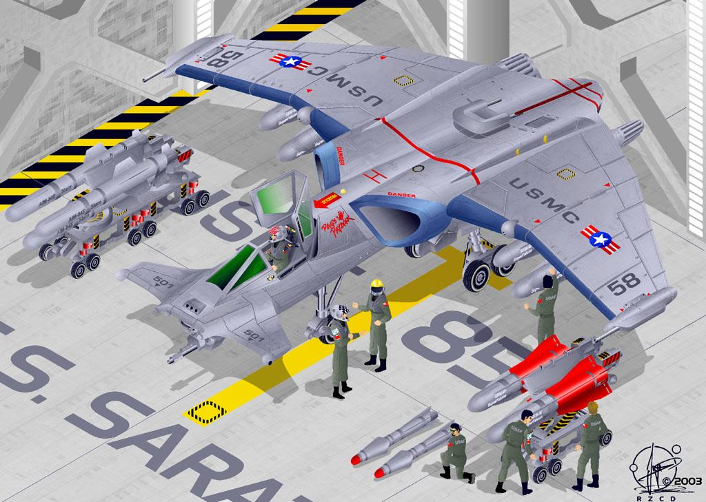 SAAB - SA-43 Attack-Jet by Paul-Muad-Dib