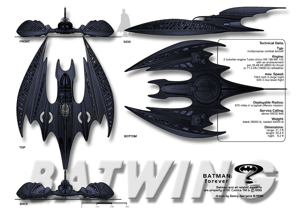 Fishing decal www imgarcade com online image arcade - Batwing Batman Forever By Paul Muad Dib On Deviantart