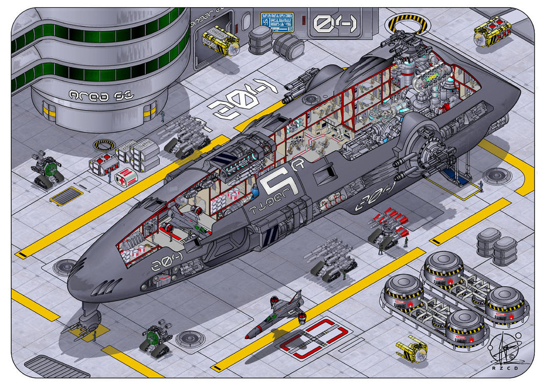 Spaceship 39 tiger class 39 by paul muad dib on deviantart for Spaceship design
