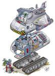 flying Tank Typ Shift EX-602