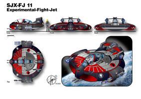 Experimental Fight-Jet by Paul-Muad-Dib