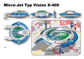 Micro-Jet Typ Vision X-400 by Paul-Muad-Dib