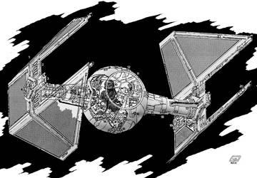 T.I.E. Interceptor by Paul-Muad-Dib