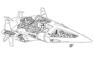 Fast Spaceship by Paul-Muad-Dib