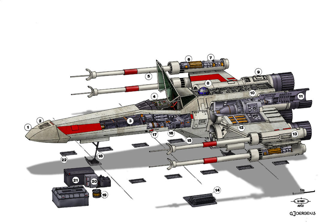 star wars t 65 x wing by paul muad dib on deviantart. Black Bedroom Furniture Sets. Home Design Ideas