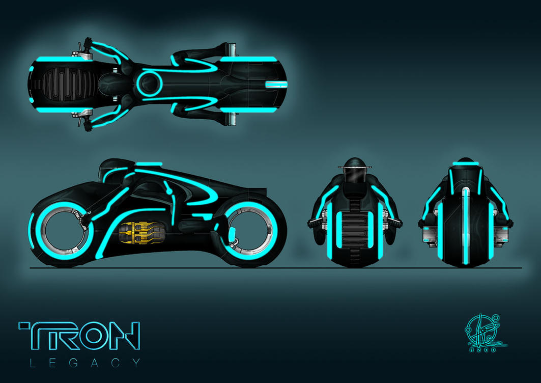 TRON - Light cycle by Paul-Muad-Dib