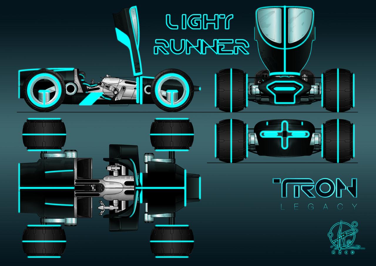 TRON - Light Runner open by Paul-Muad-Dib