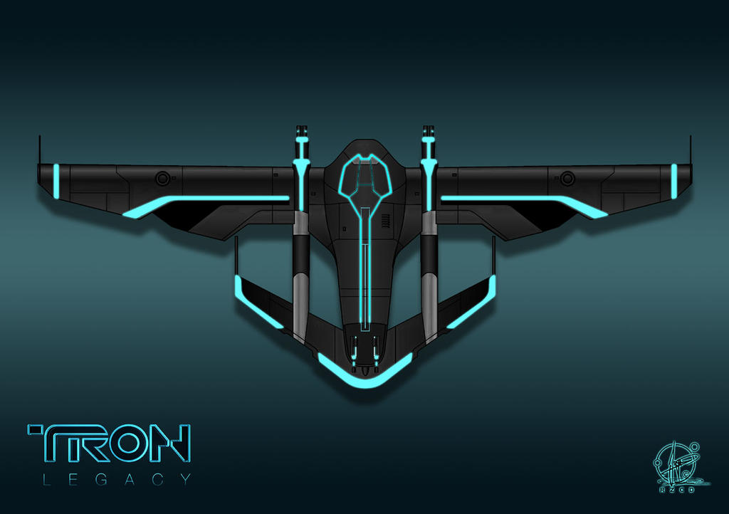 TRON Light Jet W.I.P. by Paul-Muad-Dib