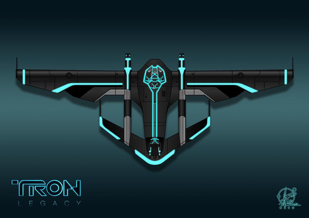TRON Light Jet by Paul-Muad-Dib
