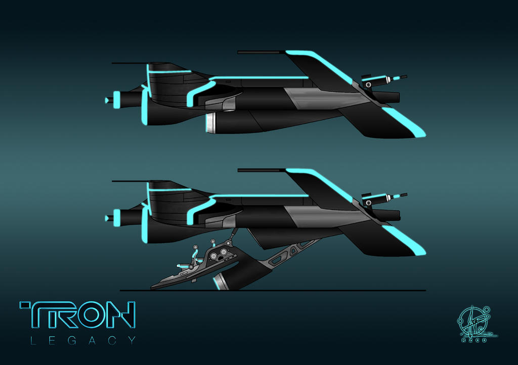 TRON Light Jet by Paul-Muad-Dib
