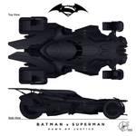New Batmobil - Batman vs. Superman