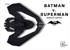 Batwing Batman vs. Superman by Paul-Muad-Dib
