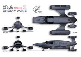 BTA ECHO Z Fighter - Enemy Mine by Paul-Muad-Dib