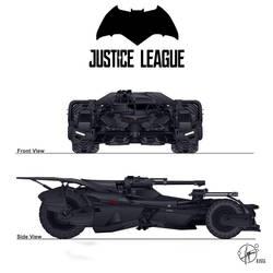 W.I.P. modified Batmobil - Justice League