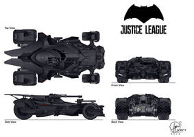 modified Batmobil - Justice League - finished