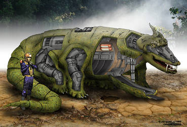 Transport vehicle Typ Lizard