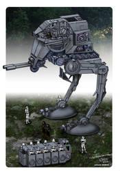 Star Wars - Scoutwalker ATST