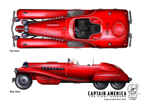 Schmidts Coupe - Captain America
