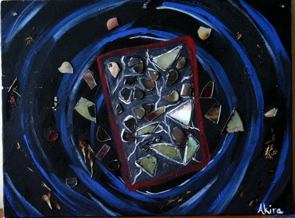 Miroir casse by akiraauger on deviantart for Le miroir casse